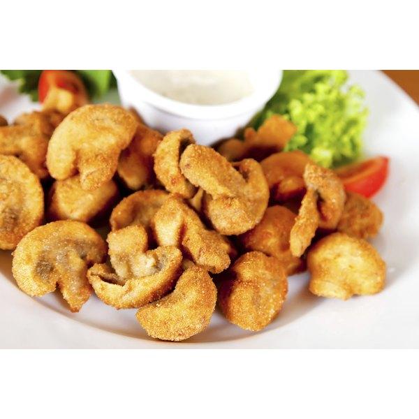 Deep fried mushrooms.