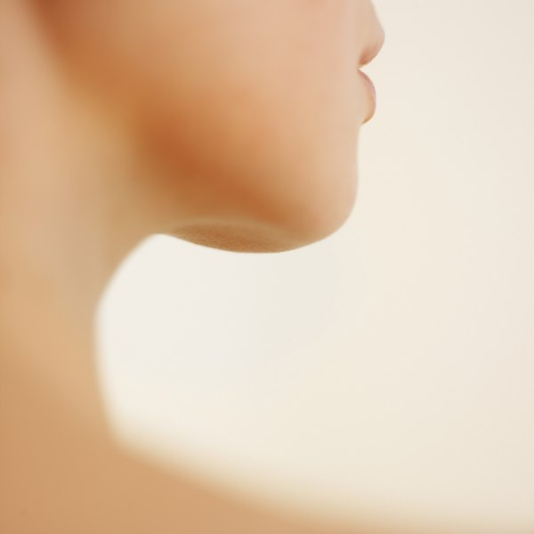 Neck of woman