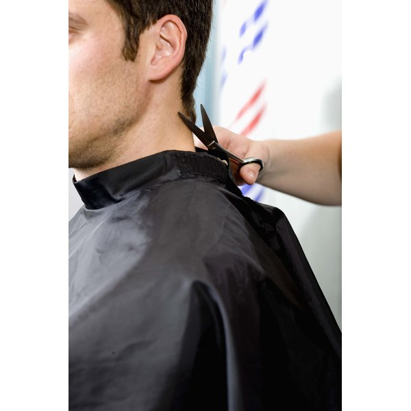 A good stylist can help customers cope with cowlick problems.