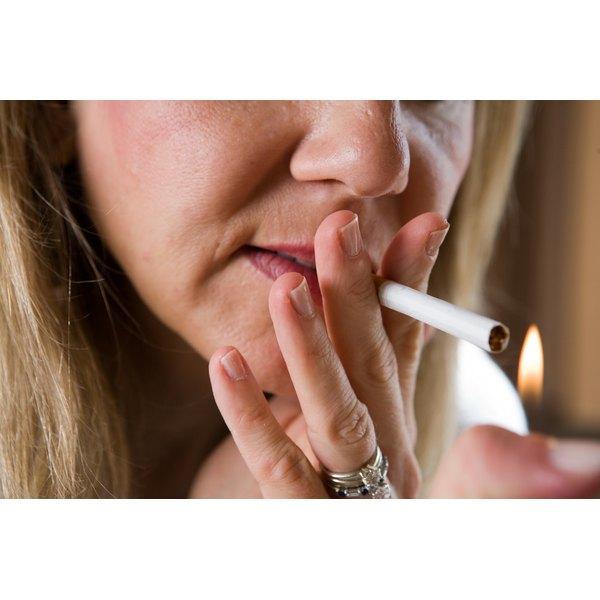 Smoking causes wrinkles.