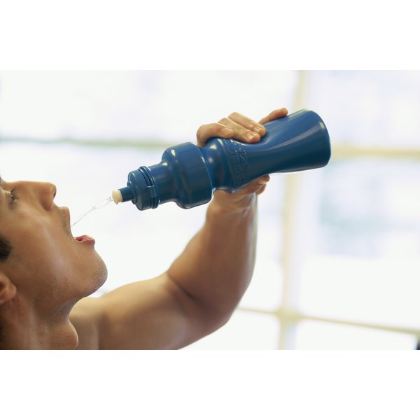 Stay hydrated to avoid sore muscles.