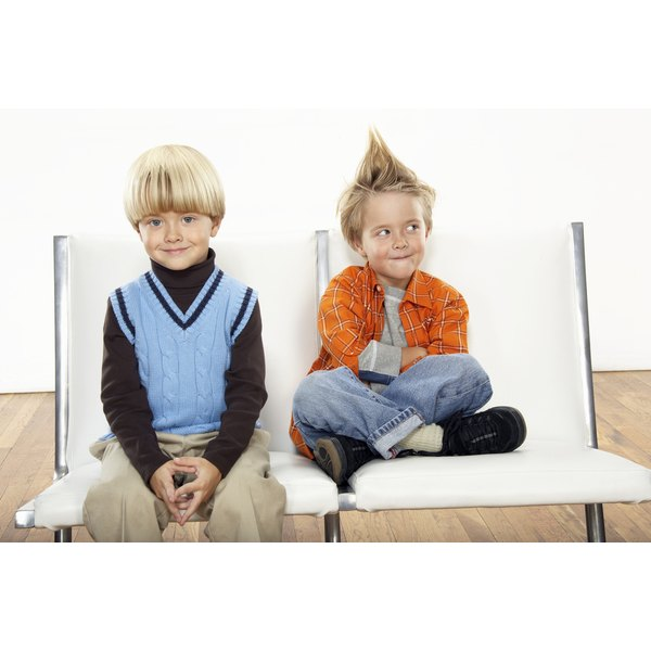 Strong-willed children display intensity of personality.