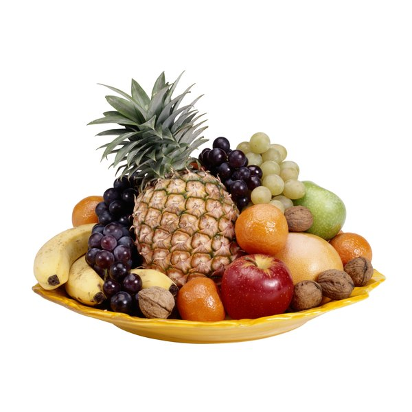 A bowl of fruit means you always have a healthy snack available.