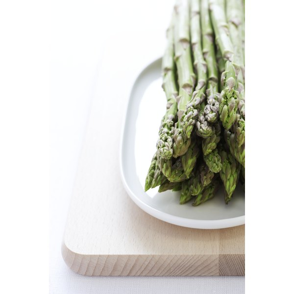 Asparagus acts as a diuretic to flush waste from the body.
