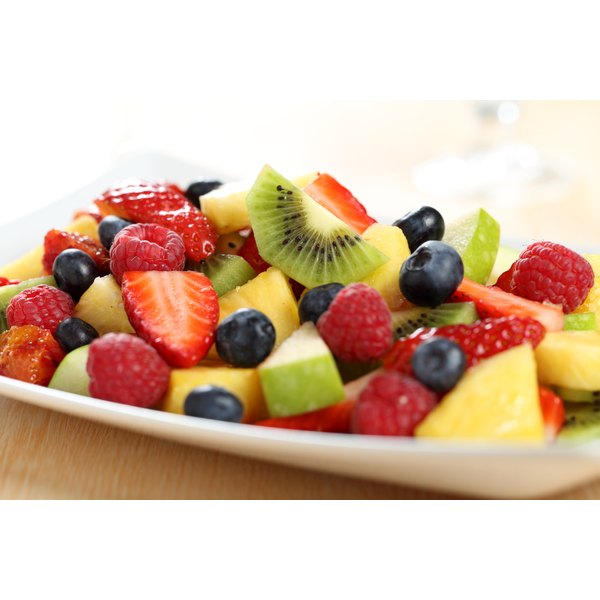 Fruits are a natural source of fructose.