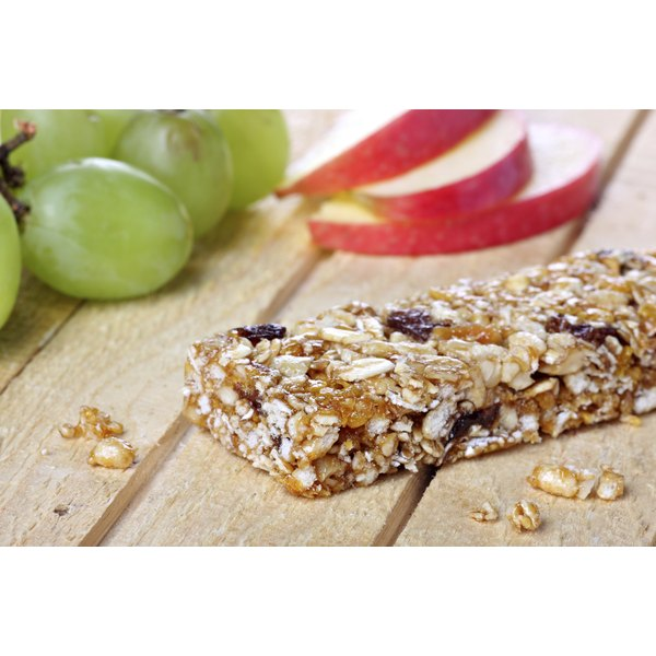 Power bars are packed with nutrients but watch the sugar.