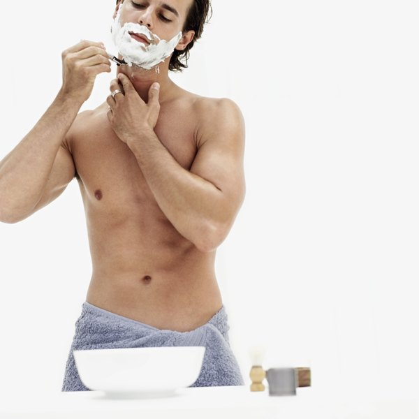Take your time while shaving to avoid accidental cuts.