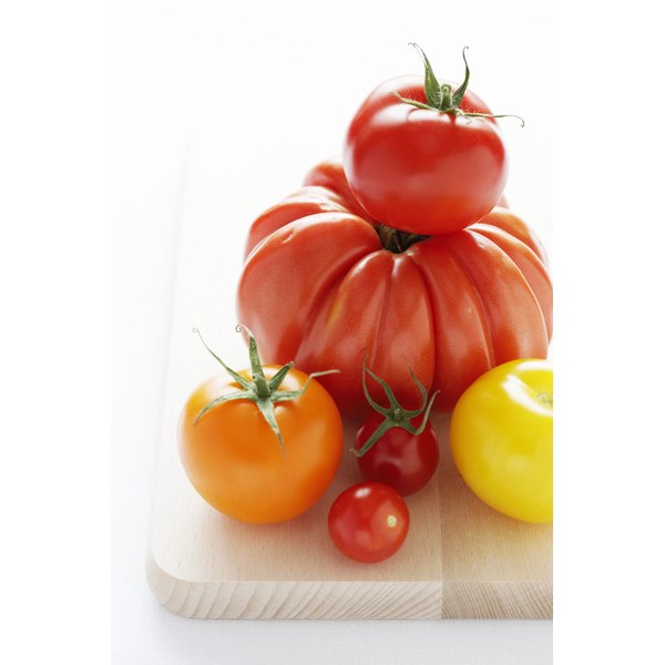 Tomatoes are a natural source of melatonin.