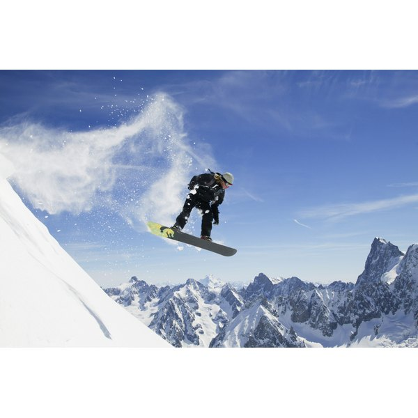 Learn about the fitness benefits of snowboarding.