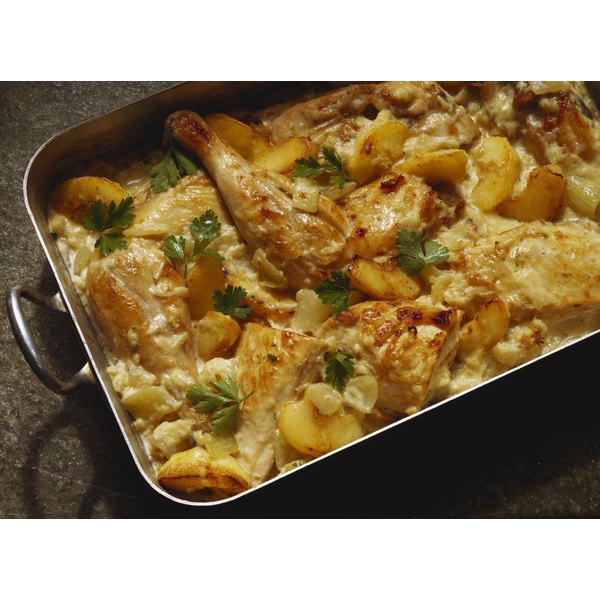 Use Ritz Crackers to top off your chicken casserole.