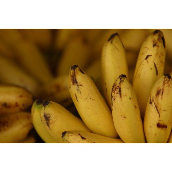 Choose ripe bananas for easy mashing.
