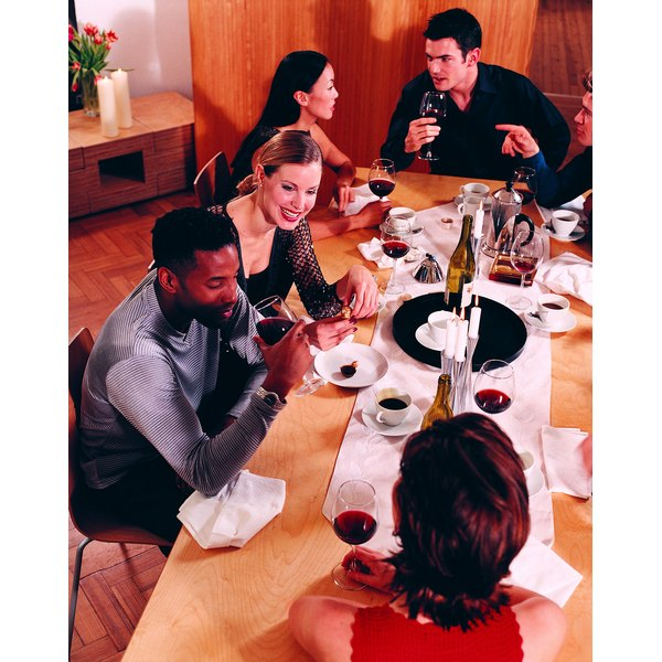Reciprocating dinner invitations creates another opportunity to enjoy your friends' company.