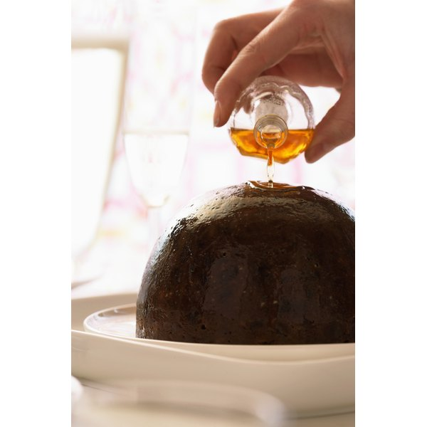 Plum pudding and molasses are a great combination.