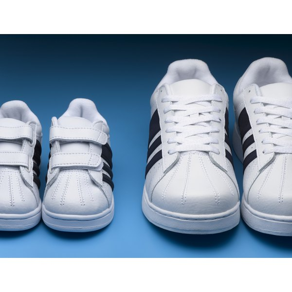 Adjust the fit of your sneakers if they don't fit correctly.
