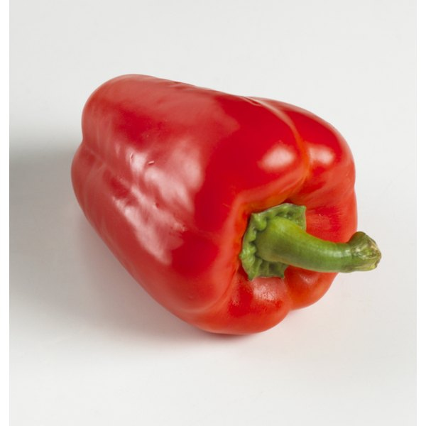 Each serving of red peppers contains your entire daily recommended intake of vitamins C and A.
