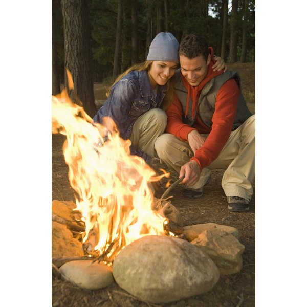 You can toast healthy treats right over your campfire.
