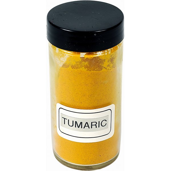 Turmeric gives curry its yellow color.