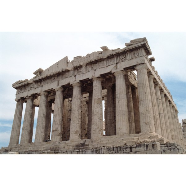 greek influence of roman architecture synonym