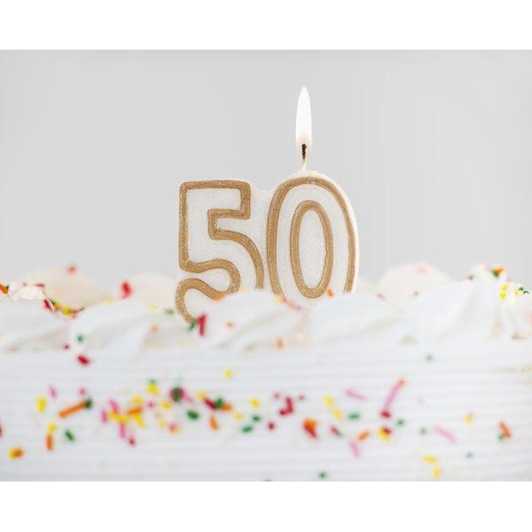 50th Birthday.