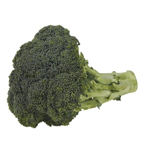 One broccoli stem has 3 to 4 grams of fiber.