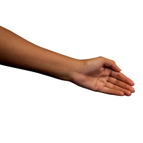 The median nerve runs through your forearm and wrist.