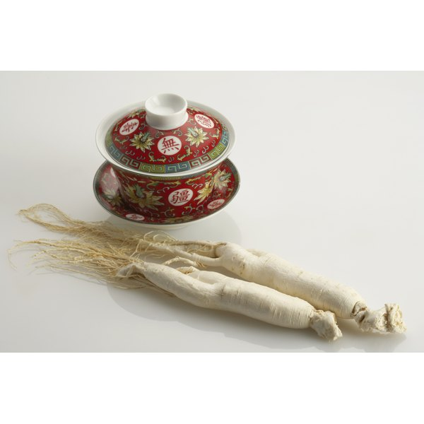 Ginseng, an anti-inflammatory herb, may ease lung irritation.