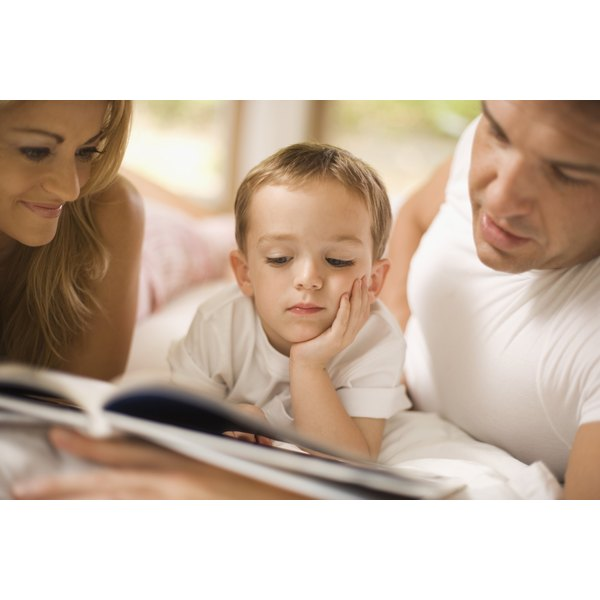 Reading to your child with speech delay can help him develop stronger language skills.
