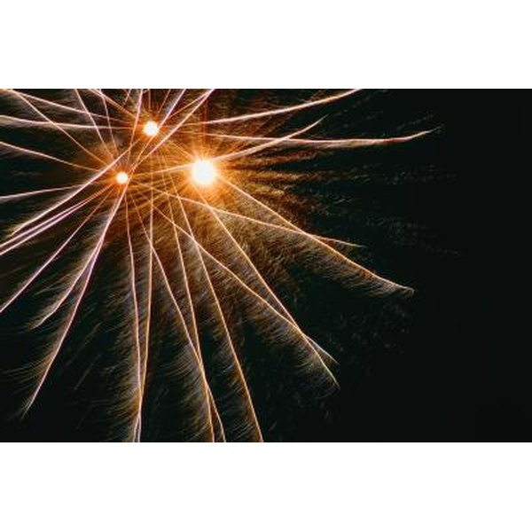How to Make Fragments & Fireworks on GIMP
