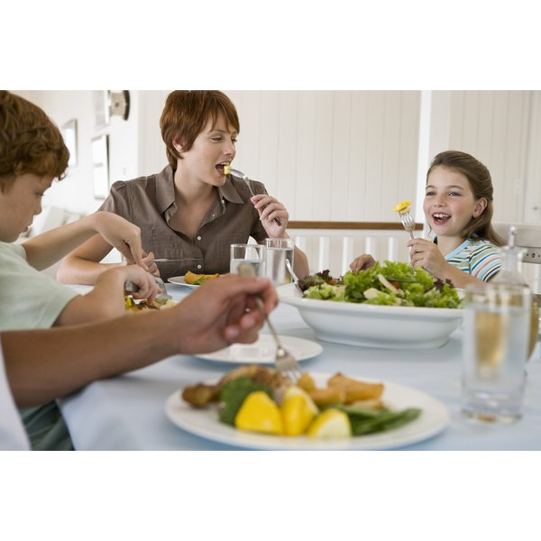 A single mother may spend a considerable portion of her income on food.