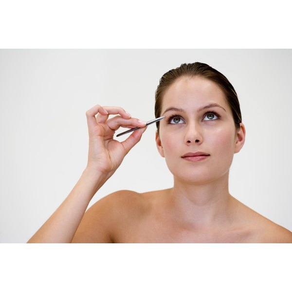 Add as much length as you desire with an eyebrow pencil.