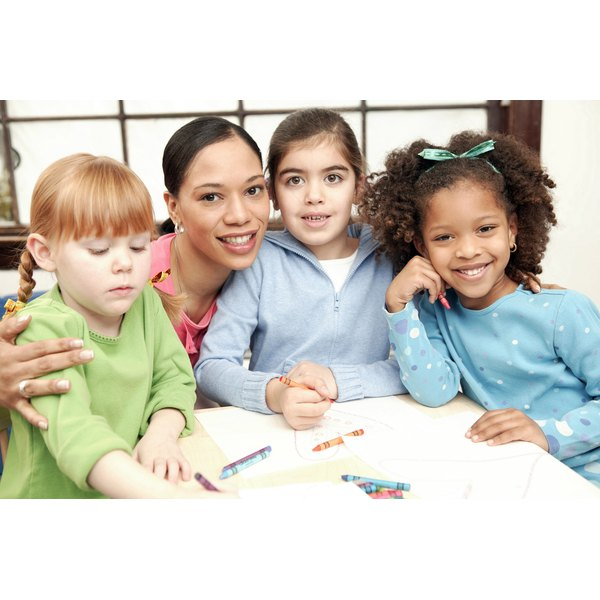 Daycare can offer a beginning school-like setting for your child.