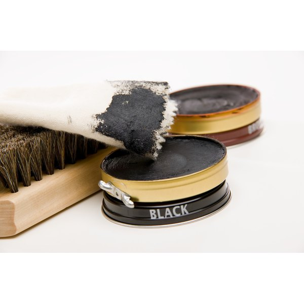 Using old-fashioned shoe polish is the best way to care for Hugo Boss leather shoes.