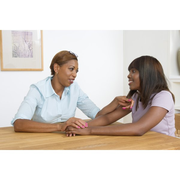 Talk to your teen about the risks associated with STDs.