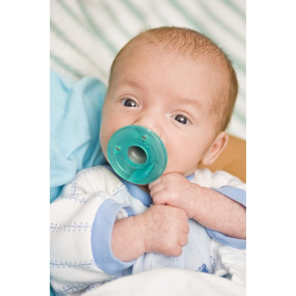 Proper nutrition helps infants develop normally.