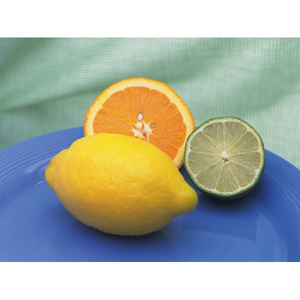 Lemons and limes contain vitamin C, but they should not be the only food you consume.