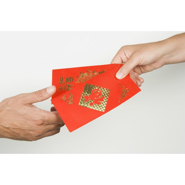Exchanging gifts is common in Chinese culture.