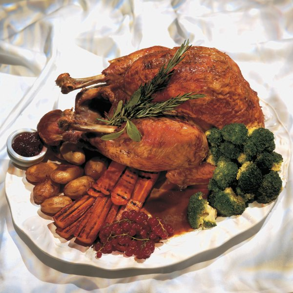 Roasted turkey cooks no slower at high altitude.