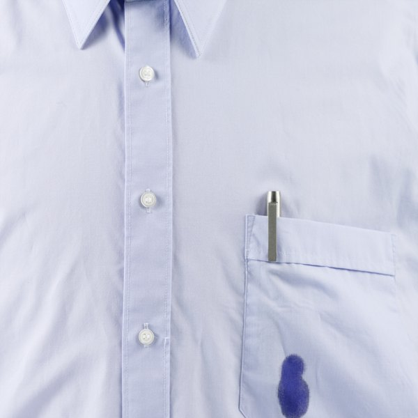 how to get ink out of a non white dress shirt our everyday life