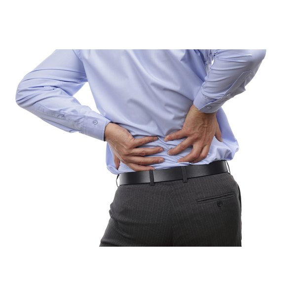 There are numerous causes of severe back pain.