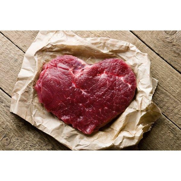 Beef heart in paper