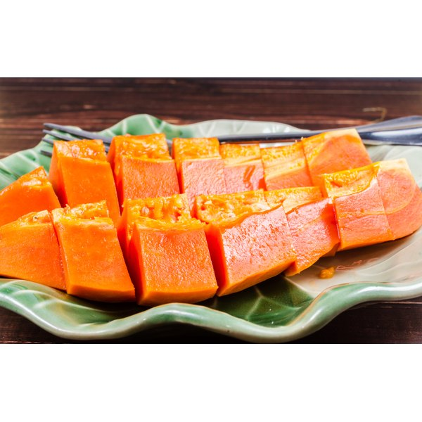 Papaya enzyme won't help you absorb protein.