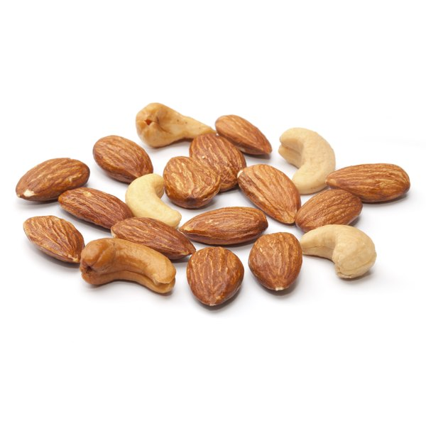 Some nuts are good sources of magnesium.