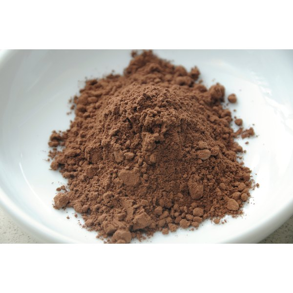 Cocoa powder in a bowl.
