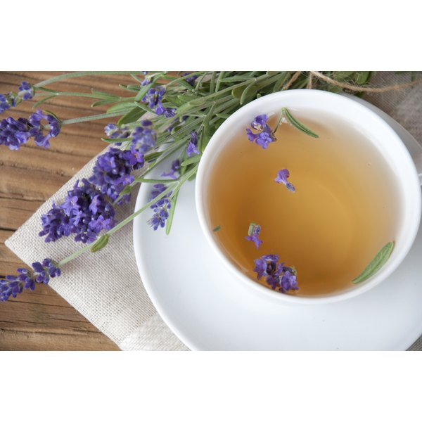 Lavender tea has medicinal properties that may help you sleep better.