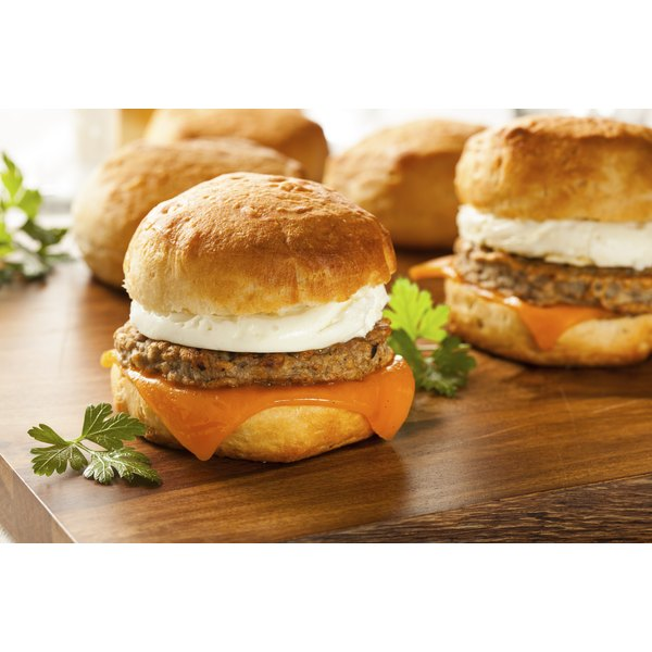 Control what's in your sausage by making your own for items such as egg sandwiches.