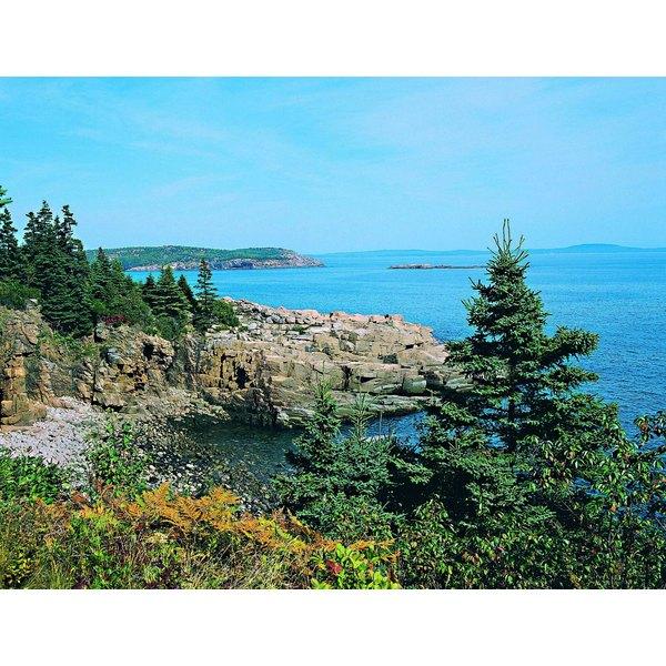 Coastline at Acadia National Park, Maine