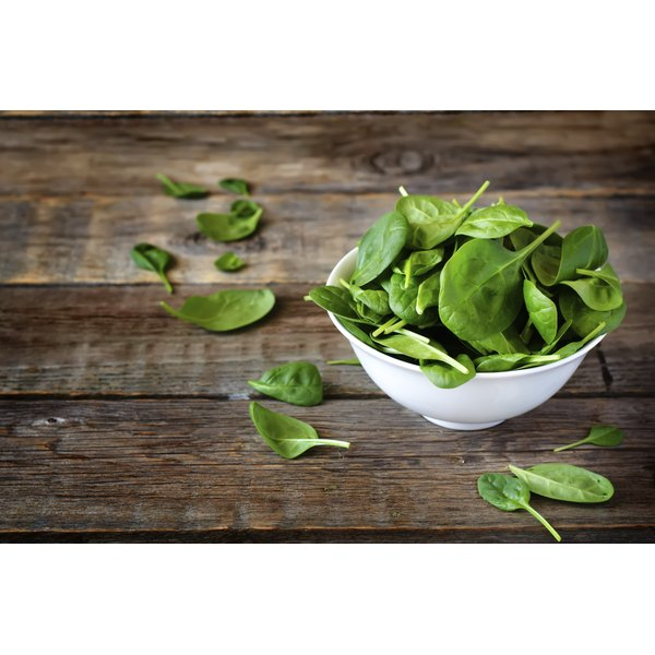 Fresh spinach yields the best flavor.