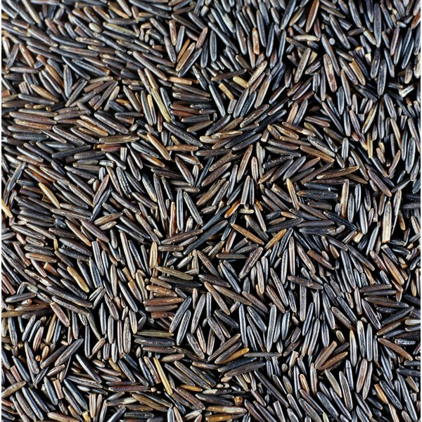 Wild rice takes longer to cook than true rice, but is prepared the same way.