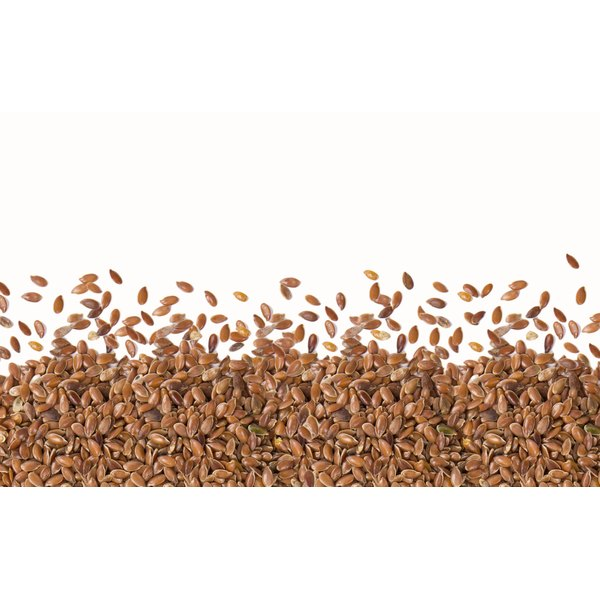 Whole flaxseed is ground or milled for better absorption.