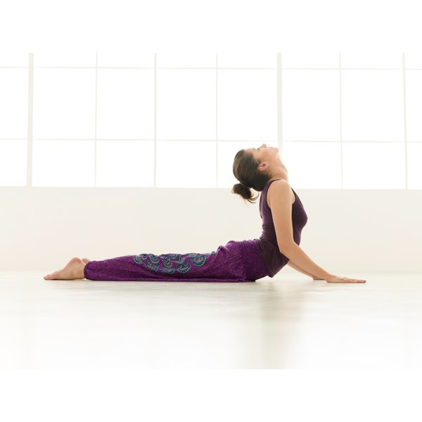 Cobra pose can help tone your kidneys.